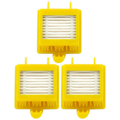 3 Pack HEPA Filter Replacement Part # 21899 for iRobot Roomba 700 Series